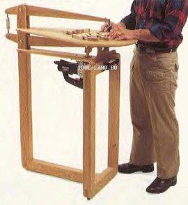Лобзиковий верстат з ручного інструменту